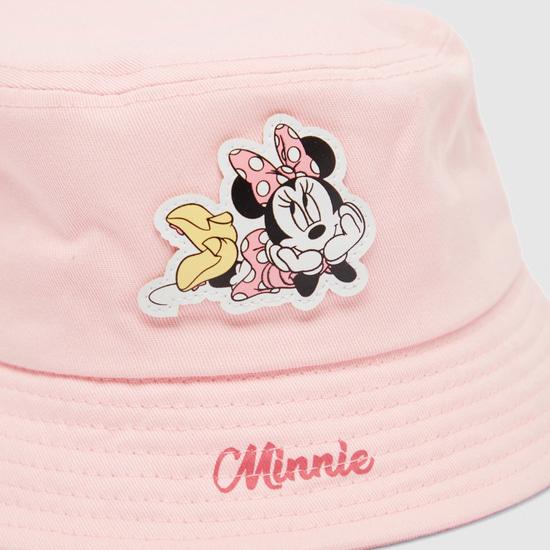 Minnie Mouse Applique Detail Hat