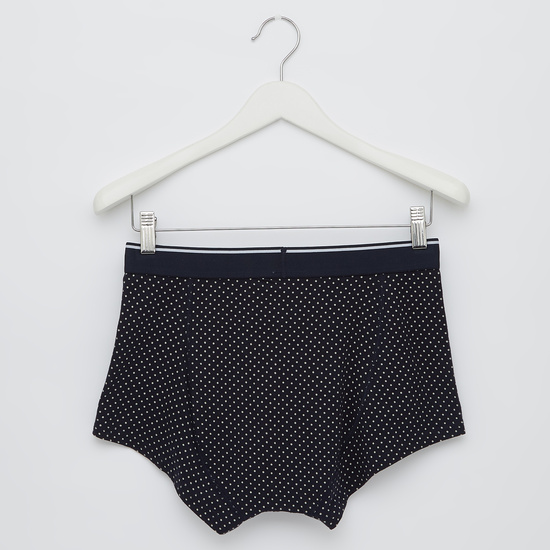 Set of 2 - Assorted Trunks with Elasticised Waistband