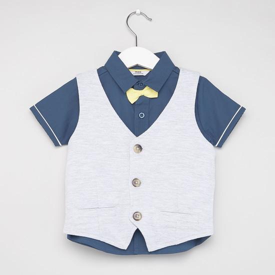 Textured 3-Piece Clothing Set