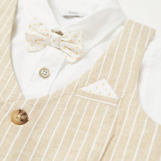 Striped 3-Piece Clothing Set