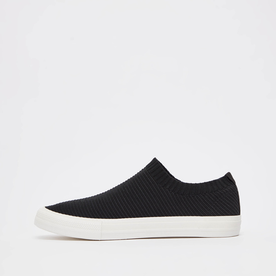 Textured Casual Slip On Shoes