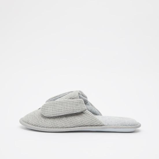 Textured Bedroom Slippers