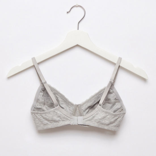 Set of 2 - Basic Bra with Hook and Eye Closure