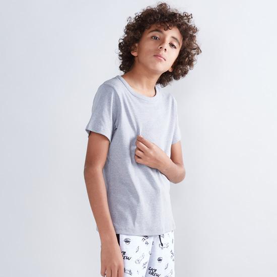 Round Neck T-Shirt - Set of 2