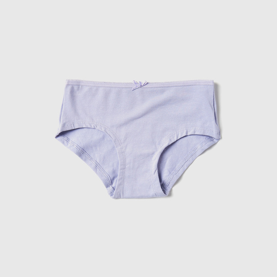 Set of 5 - Assorted Solid Briefs