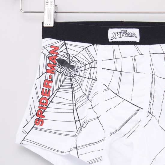 Set of 3 - Spiderman Printed Trunks with Elasticised Waistband