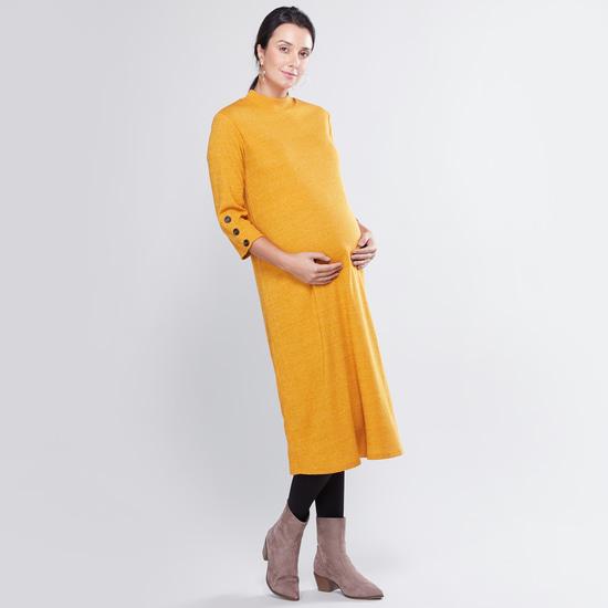 Maternity Plain Stockings with Elasticised Waistband