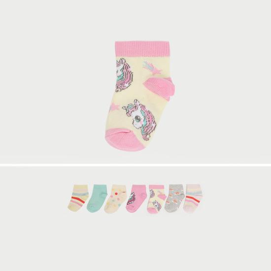 جوارب متنوعة بطول الكاحل - طقم من 5 أزواج