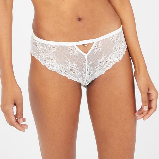 Lace Detail Bikini Briefs
