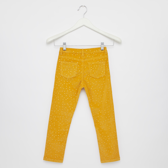 Printed Corduroy with Pockets
