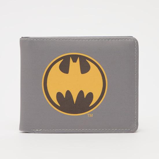Batman Logo Print Wallet