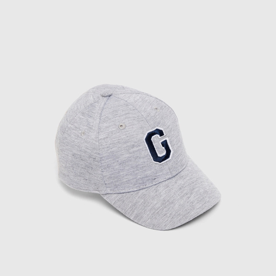 Letter Embroidered Baseball Cap with Eyelets