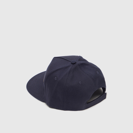 Applique Detail Baseball Cap with Hook and Loop Closure