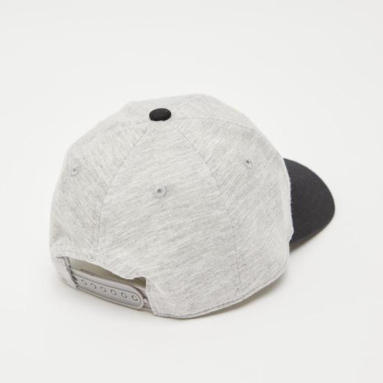 Textured Cap with Snap Closure