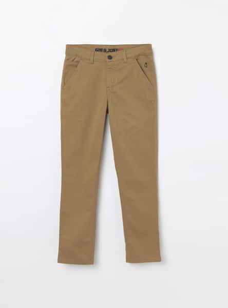 GINI & JONY Solid Casual Trousers