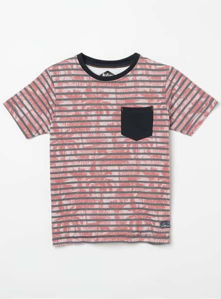 LEE COOPER JUNIORS Striped Crew Neck T-shirt