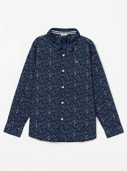 ALLEN SOLLY Boys Printed Regular Fit Casual Shirt