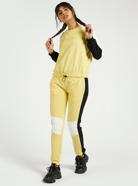 Full Length Colourblocked Joggers
