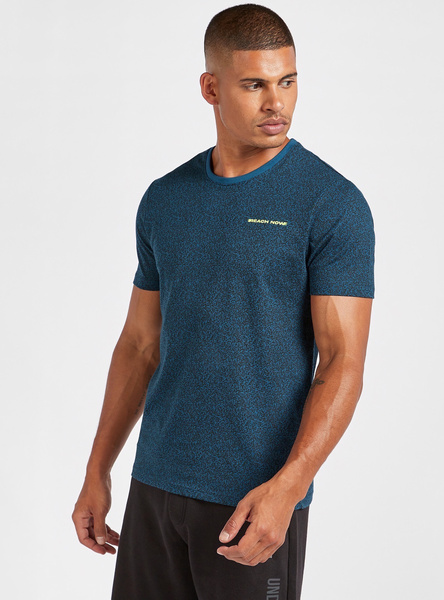 Grindle T-shirt with Short Sleeves and Round Neck