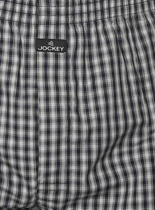JOCKEY Checks Print Boxer - Pack of 2 - ASSORTED Colour & Design