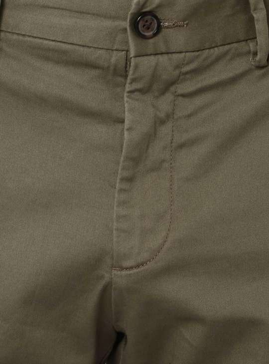CODE Solid Flat Front Pants