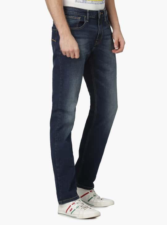 FORCA Dark Wash 5-Pocket Jeans