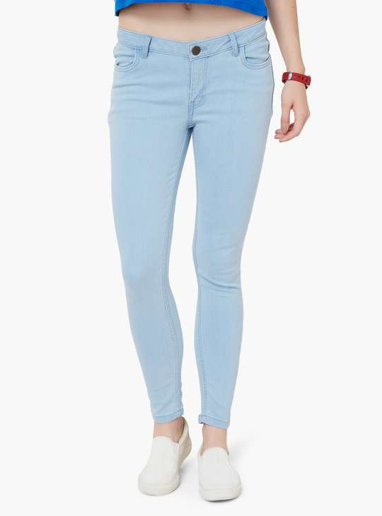 FAME FOREVER Skinny Fit Jeans