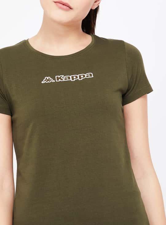 KAPPA Printed Regular Fit Lightweight T-shirt