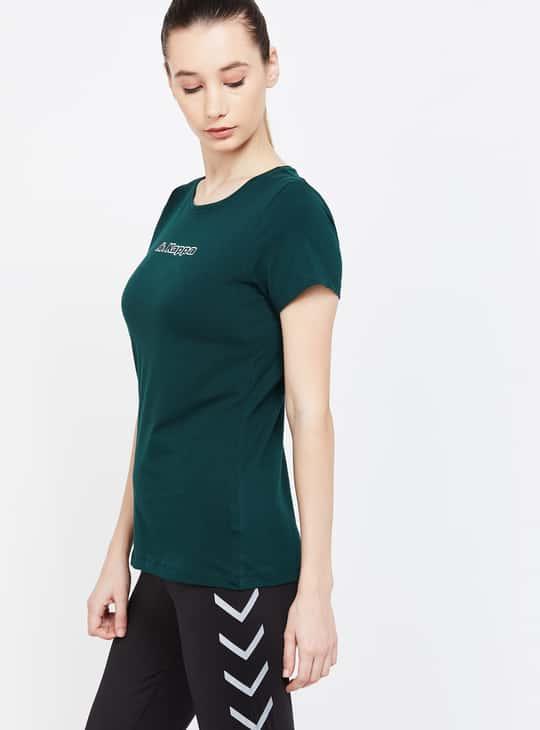 KAPPA Printed Regular Fit Lightweight Sports T-shirt