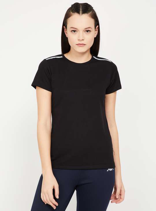 KAPPA Regular Fit Kooltex T-shirt with Mesh Panel