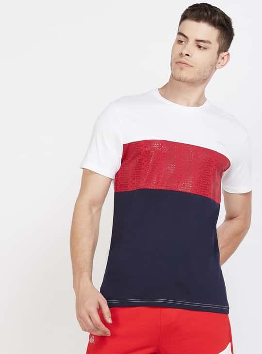 KAPPA Colourblock Short Sleeves Regular Fit T-shirt