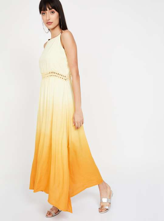 CODE Ombre-Dyed Maxi Dress