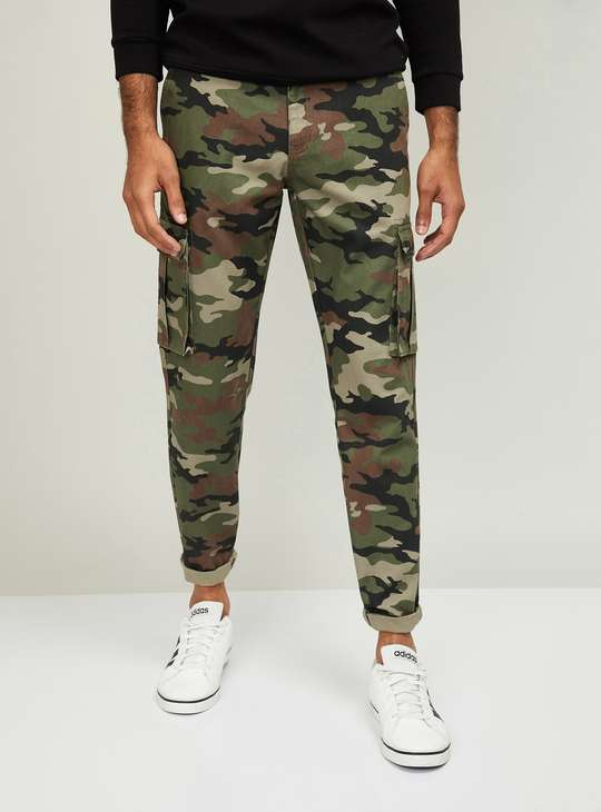 FORCA Men Printed Trousers