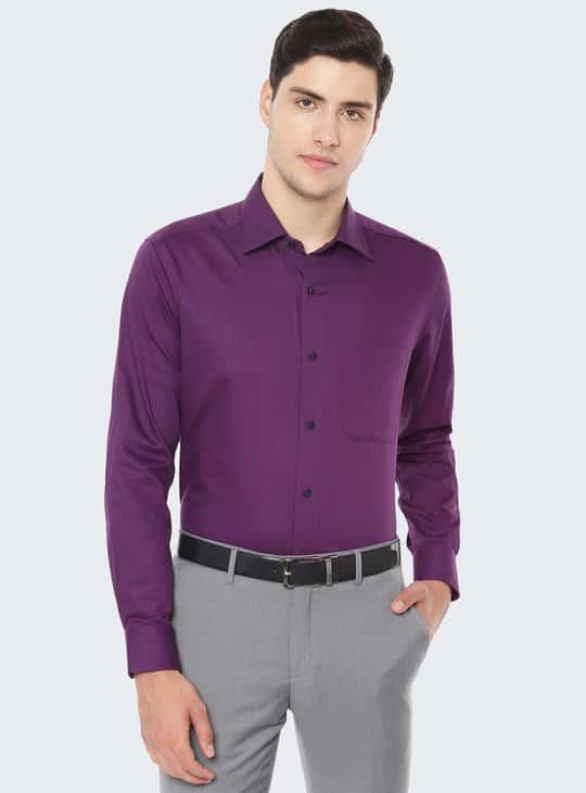 LOUIS PHILIPPE Striped Regular Fit Formal Shirt