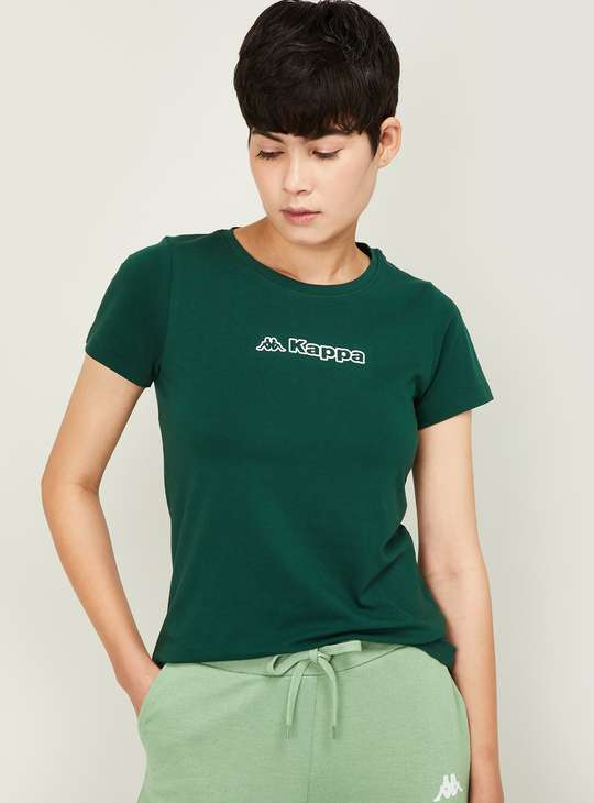 KAPPA Women Printed Round Neck T-shirt