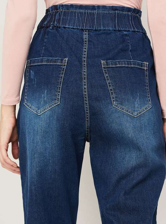 GINGER Women Stonewashed Relaxed Fit Jeans
