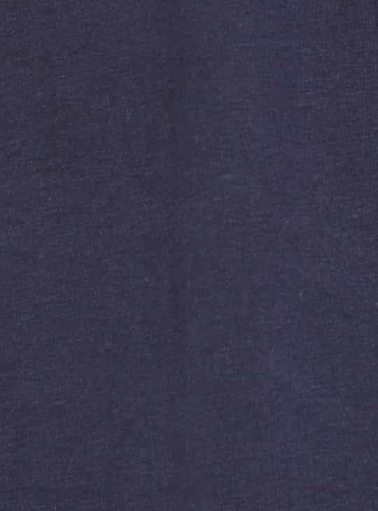 FORCA Men Solid Regular Fit Henley T-shirt- Pack of 2