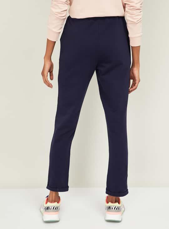 KAPPA Women Solid Elasticated Track Pants