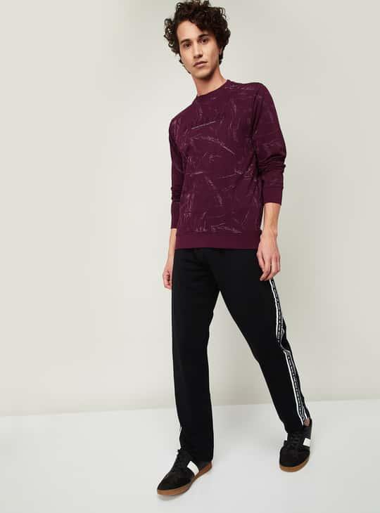STATUS QUO Men High-Density Printed Regular Fit T-shirt