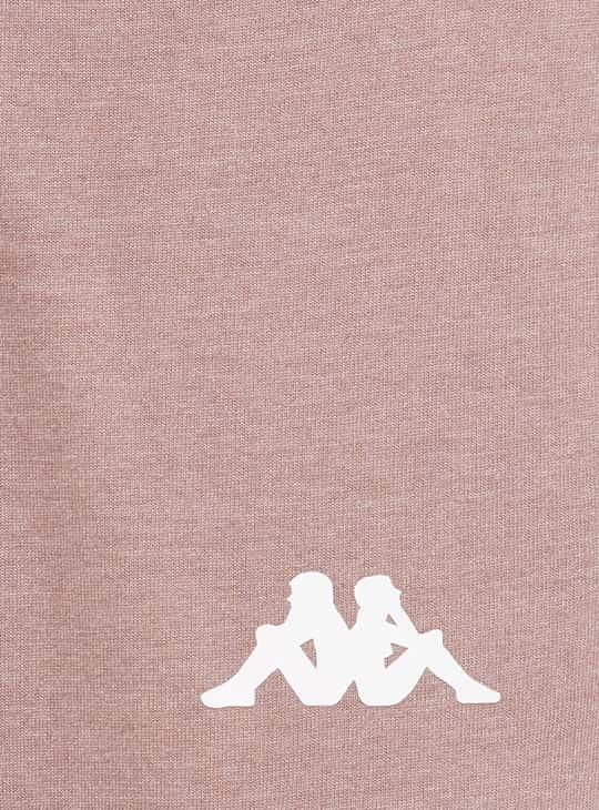 KAPPA Women Typographic Print Elasticated Joggers