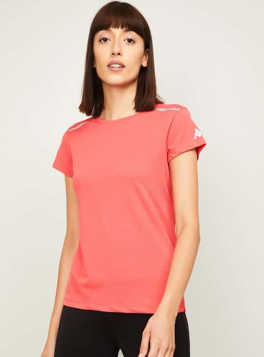 KAPPA Women Solid Sports T-Shirt