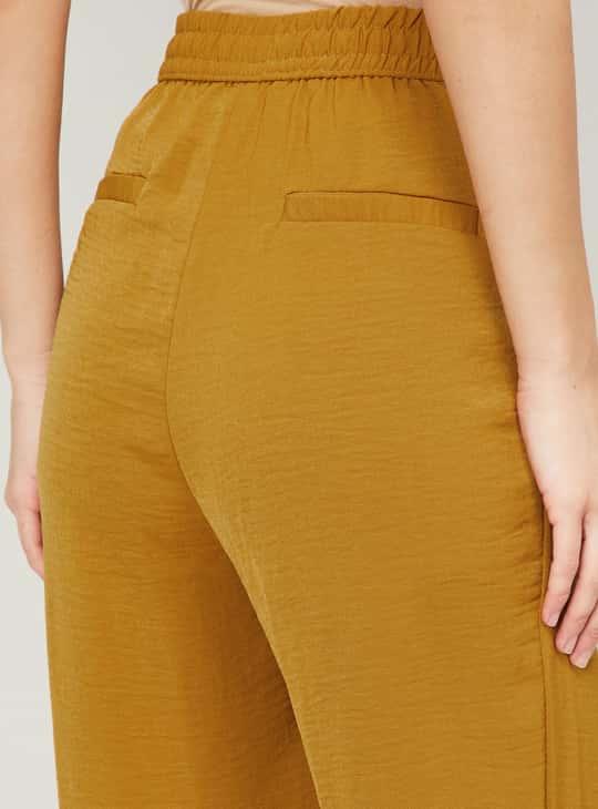 VERO MODA Women Solid Straight Fit Trousers