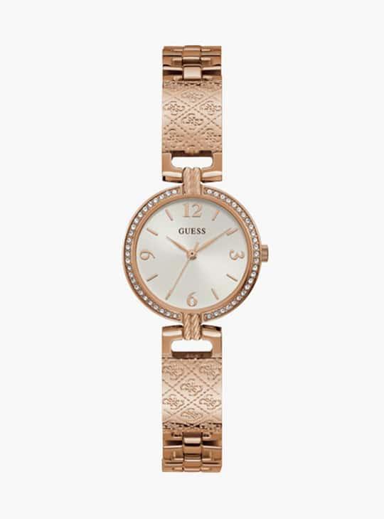 GUESS Women Embellished Analog Watch- GW0112L3