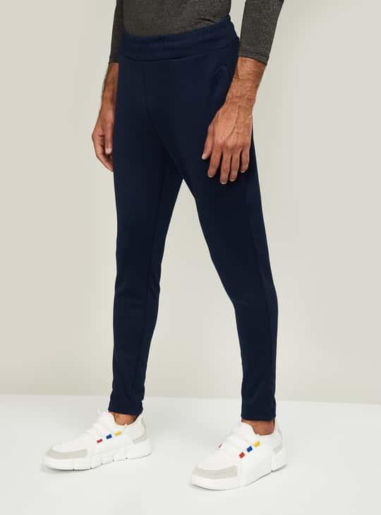 KAPPA Men Solid Elasticated Track Pants