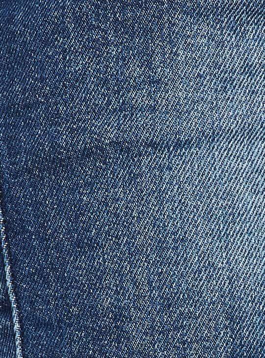 XPOSE Women Stonewashed Regular Fit Denim Shorts