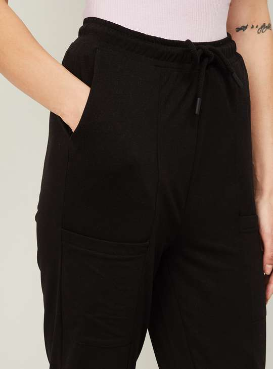 GINGER Women Solid Trousers