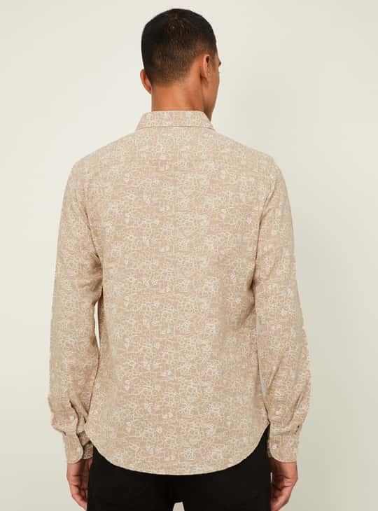 DENIMIZE Men Printed Regular Fit Casual Shirt