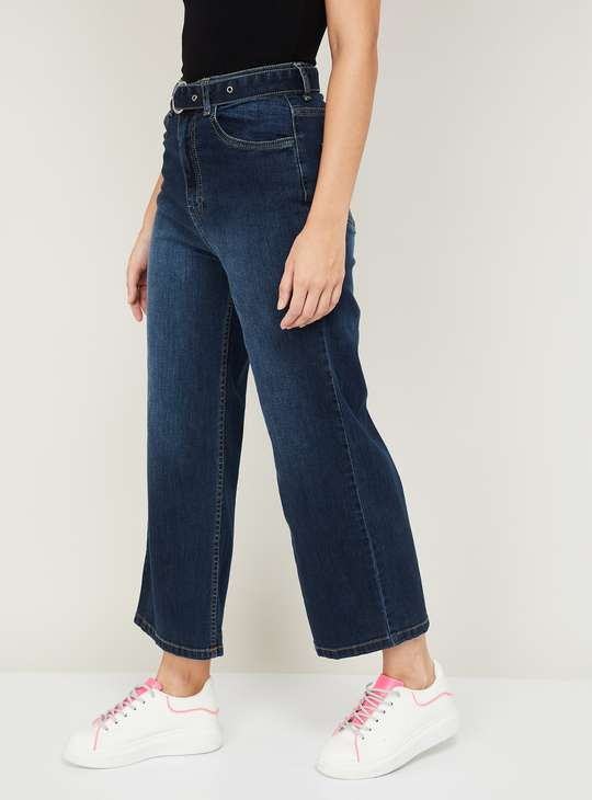 GINGER Women Lightly Washed Loose Fit Jeans