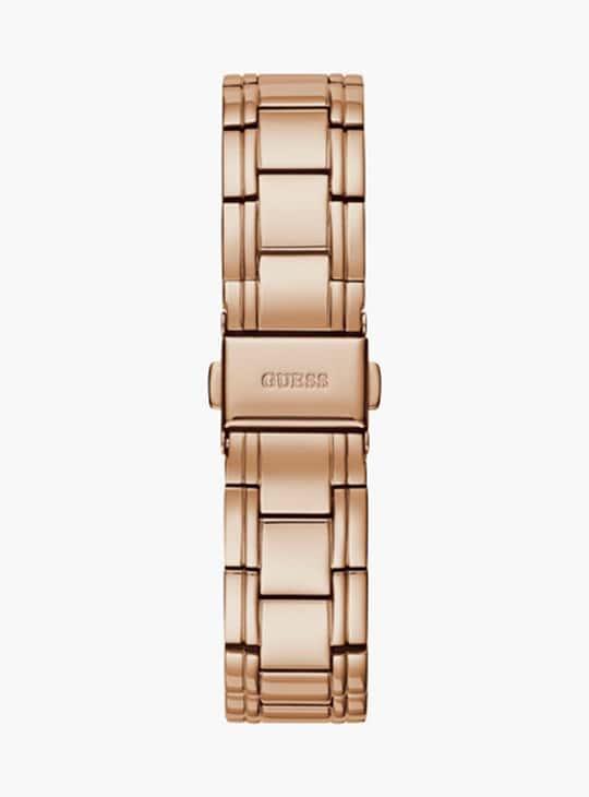 GUESS Embellished Analog Round Dial Women's Wristwatch - GW0047L2