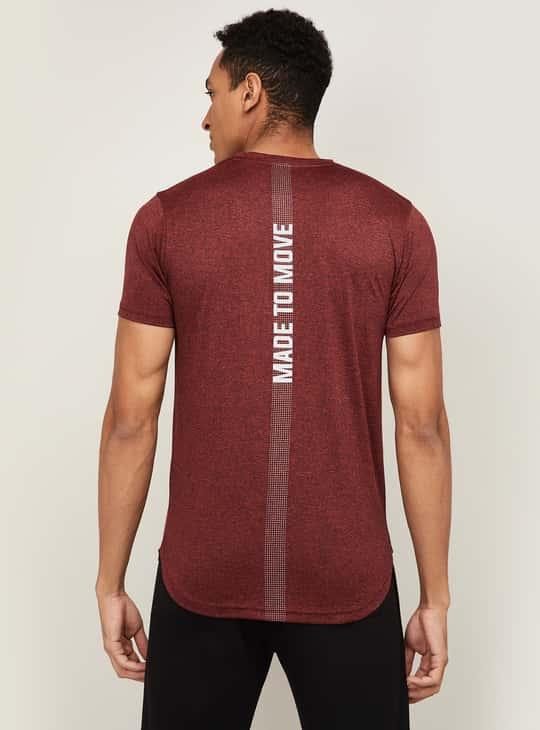 KAPPA Men Printed Regular Fit Sports T-shirt
